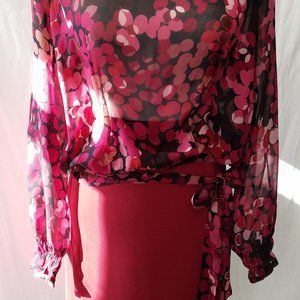 2 piece set of blouse and skirt
